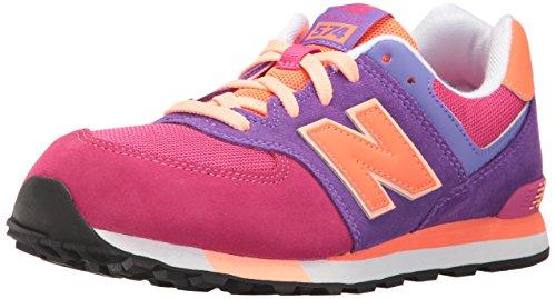 New Balance Unisex-Kinder KL574 Kurzschaft Stiefel, Mehrfarbig (Nebula), 36 EU
