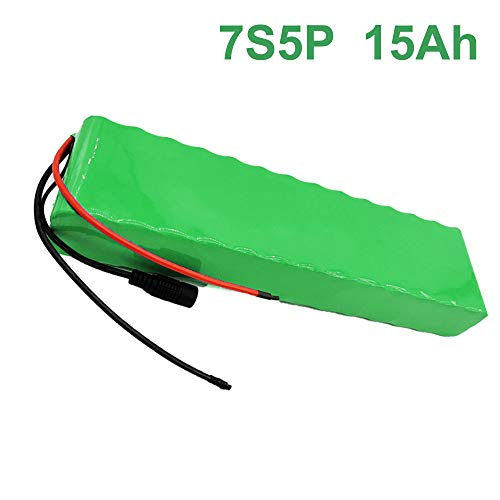 24V 15Ah 25.9V 7S5P Li-ion Akku E-Bike Elektrofahrrad Batterie