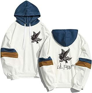 Lil Peep Falling Down Hoodies Pullover Tentacion Merch Rapper Hell Boy Sweater Men Boys Unisex White