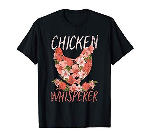 Chicken Whisperer Funny Farmer Women Gift Animal Chicken T-Shirt