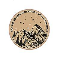 キャンプ シール [Camp Seal] ハイキングスーツケース 防水 シール バイク ヘルメットなど(キャンプ 1)