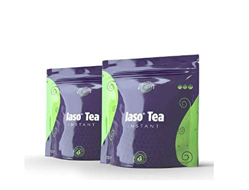 TLC Total Life Changes IASO Natural Detox Instant Herbal Tea, 25 Count (Pack of 2)