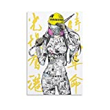 DIDIWEI Free Hong Kong Leinwand Kunst Poster und Wandkunst