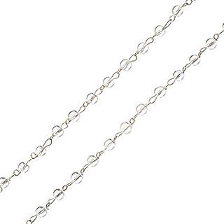 DanLingJewelry lunghezza 4,4 cm Estensione a 20 fili in acciaio inox 304 per la creazione di gioielli