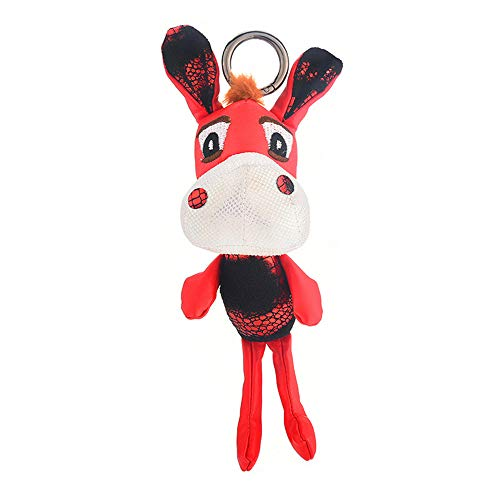 UDBOK Schlüsselbund Mode Esel Schlüsselanhänger niedlichen Schlüsselbund Tier Schlüsselanhänger Halter für Frauen Taschenanhänger Auto Schmuckstück Geschenk, lila