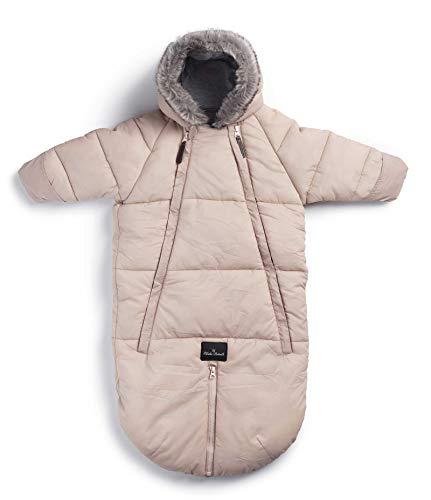Elodie Details Schneeanzug Baby Overall für Winter - 6 bis 12 Monate - Powder Pink