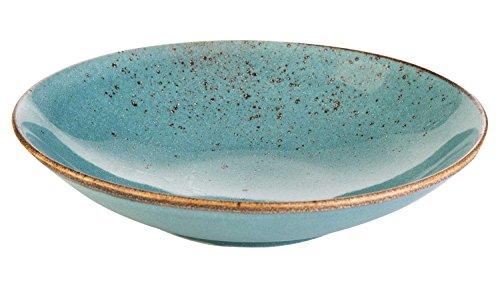 Suppenteller Tiefteller Salatteller | Steinzeug | Blau | spülmaschinenfest