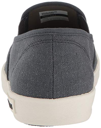 SeaVees Men's Baja Slip On Standard Casual Sneaker, Slate Navy, 9