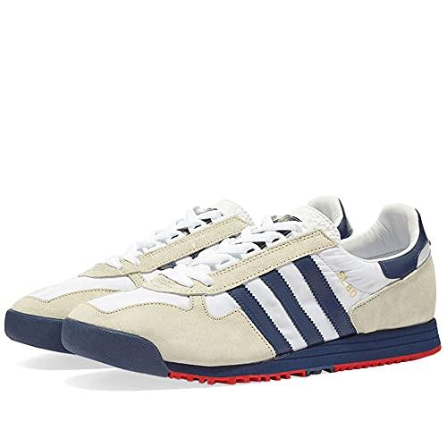Adidas SL 80, Sneaker Hombre, White/Tech Indigo/Grey, 40 EU ✅