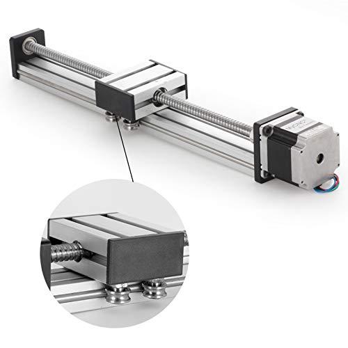 TopDirect SFU1605 lineal carril guía 300 mm movimiento lineal Rail CNC Linear Rail Eje Guía con motor paso a paso NEMA 23 apoyo