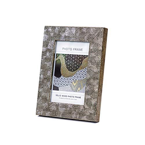 WAGA 4x6 Bilderrahmen Foto Display für Tischplatte Display Creative Unregelmäßige Muster Fotorahmen Ornamente, Geschenke für Frauen (Größe : 5X7)