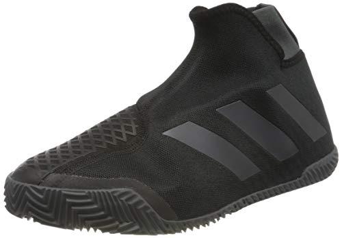 adidas Herren STYCON Laceless Clay Court Negro FV2569 Tennisschuhe, Core Black Night Metallic Grey Six, 47 1/3 EU