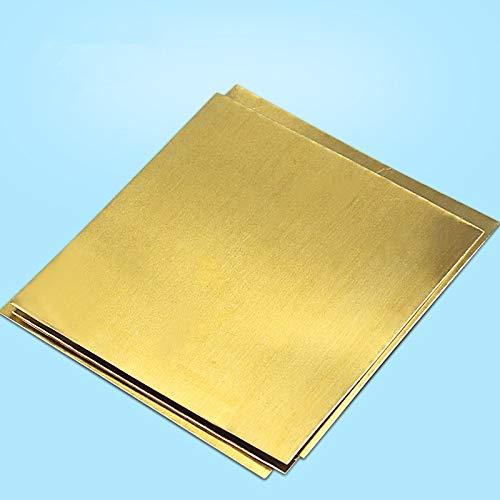 1PCS / lotYT1325Bultradünne Brass Noten 100mm * 100mm * 1.5mmH62 Messingplattefreies VerschiffenVerkauf mit VerlustDIY Messingplatte