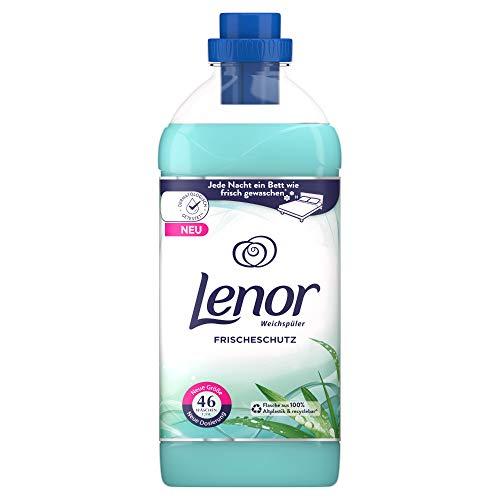Lenor Weichspüler, Flauschige Wäsche mit Wäscheduft, Frischeschutz Blumiger Duft mit Zitrusnote, 46 Waschladungen (1.15 L)