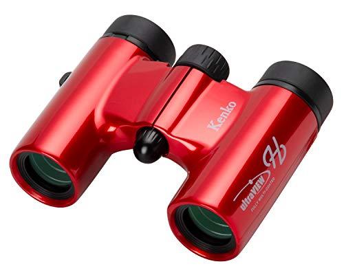 Kenko 双眼鏡 コンサート用 ウルトラビューH 8×21DH FMC ダハプリズム式 8倍 21口径 コンパクト フルマルチコーティング レッド