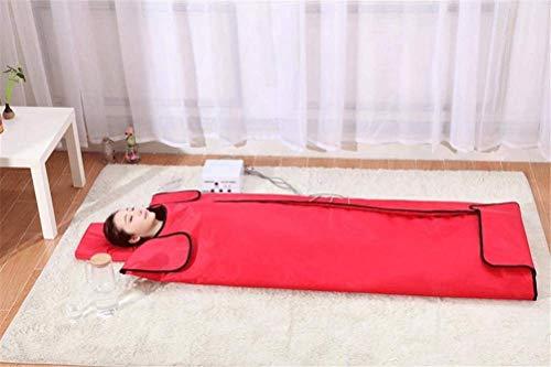 Couverture de sauna de thérapie infrarouge lointaine, matelas de massage de beauté avec désintoxication à la vapeur Khan, sans excès de graisse corporelle, soulageant la fatigue physique (Couleur