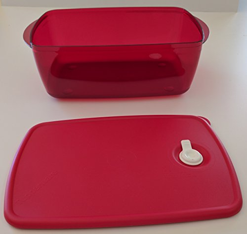 Tupperware Vent 'N Serve Large Deep Rectangular in Popsicle