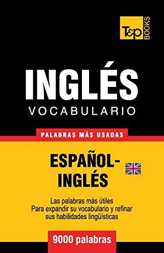 Vocabulario español-inglés británico - 9000 palabras más usadas: 173 (Spanish collection)