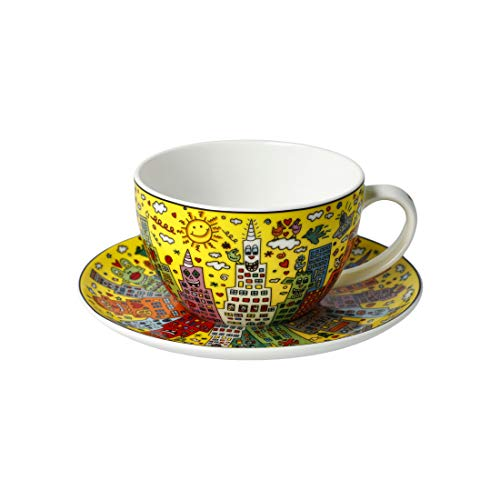 Goebel My New York City Sunset James Rizzi Teetasse Kaffeetasse Tassse NEUHEIT 2020