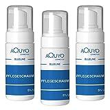 Blueline 5% Urea Schaum für trockene Haut und Füße (3er Pack - 3x 100ml) | Fußschaum & Körperschaum zur...