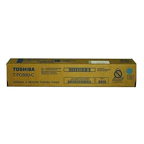 Toshiba T-FC50U-C TFC50UC E-Studio 2555C 3055C 3555C 4555C 5055C - Cartucho de tóner para...