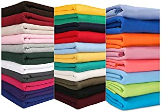 Sweatshirt Fabric for Hoddies and Dressmaking. 30 Colours of This Sweat Shirt Jersey Fabric. European Schools Approved and Tested Brushed Back Hoddy. Burgundy 2 Metre Fabric + 1 Metre Rib