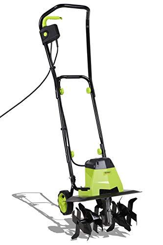 Stream Elektrischer Gartenfräse, 1500 W, mit 6 Klingen, Arbeitsbreite 40 cm und 22 cm Bodentiefe, für Gartenrasen, Bodenlockerung – 10 m Stromkabel