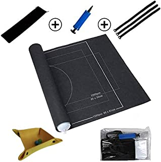 Jiahuade Puzzle Roll Up,Jigsaw Roll Mat,Puzzle Roll Mat,Tapete Puzzle Roll,Felt Mat,Rompecabezas Portátil,Tapete Puzzle 1500 Piezas,Guardar Puzzle,Puzzle Estera