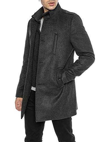 Redbridge Abrigo elegante de Hombre Chaqueta larga Slim Fit Classy Understatement