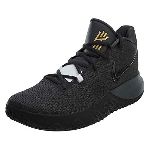 Nike Mens Kyrie Flytrap Basketball High Top Sneakers (12, Anthracite/Black/Metallic Gold)