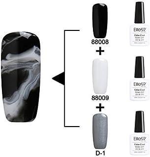 Qimisi Soak Off Changeable Uv Led Gel Polish Nail Art 3Pcs Multi Color Kit 10Ml 88008+88009+D-1
