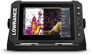 Lowrance Elite FS 7 - Buscador de peces con transductor 3 en 1 de imagen activa, gráficos C-MAP Contour+ precargados