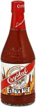 Crystal Hot Sauce Extra Hot 6.0 OZ (Pack of 3)