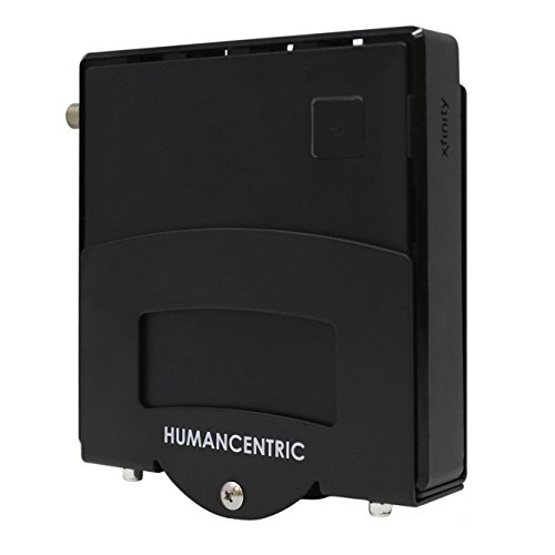 HumanCentric Adjustable Small Device Wall Mount (Narrow) | DVD Players, Cable Boxes, Streaming Media Devices | Patented