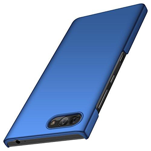 BlackBerry Key2 Hülle, Anccer [Serie Matte] Elastische Schockabsorption & Ultra Thin Design für BlackBerry Key2 (Glattes Blau)