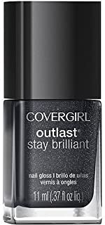 Covergirl STAR WARS THE FORCE AWAKENS Nail Gloss (#330, Diva After Dark) for glittery look!