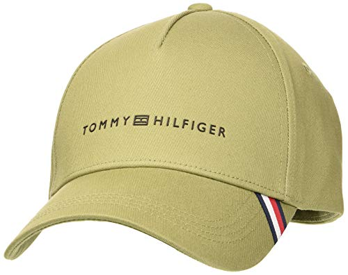 Tommy Hilfiger Uptown Cap Casquette De Baseball, Vert (Faded Olive L9f), Unique (Taille Fabricant: OS) Homme