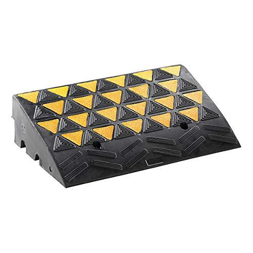Bordstein-Auffahrrampe LxBxH 600 x 360 x 150 mm reflektierend