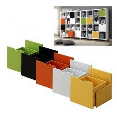 Kit Closet kubox, Madera, Blanco