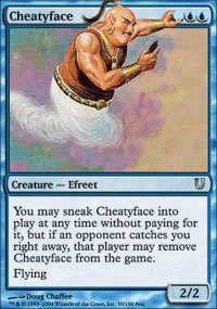 Magic The Gathering - Cheatyface - Unhinged