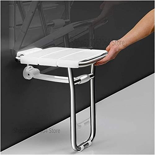 Acolchado SillaDe Ducha, Sillas de ducha para personas mayores, baño plegable taburete colgante de asiento de pared de pared de baño baño baño baño taburete taburete bañera de baño silla de pared segu