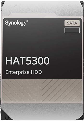 Synology HAT5300 SATA-HDD, 12 TB, 8,9 cm (3,5 Zoll), 7200 U/min, für 24/7 Umgebungen