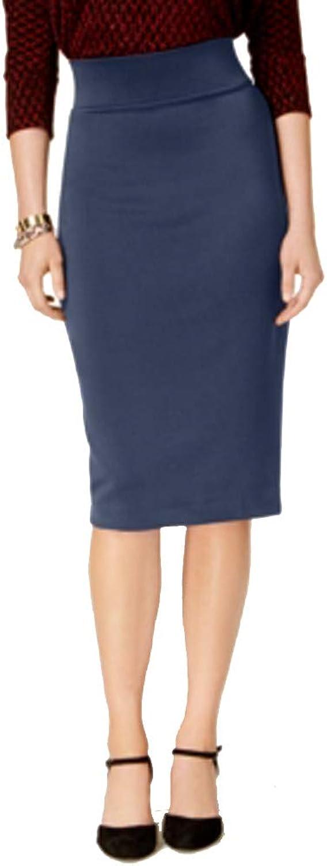 Alfani Petite Scuba Midi Skirt