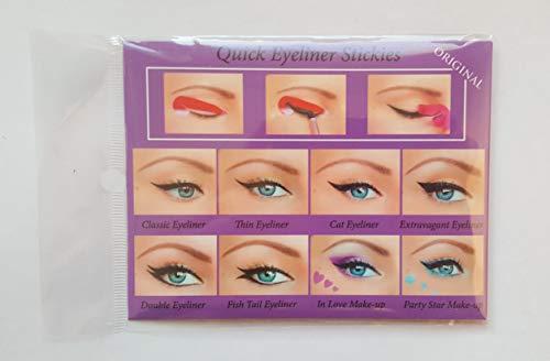 Set completo di accessori per eyeliner, 80 pezzi