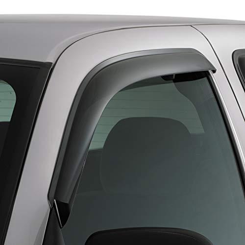 Auto Ventshade 92755 Original Ventvisor Side Window Deflector Dark Smoke, 2-Piece Set for 2000-2006 Toyota Tundra Standard Cab