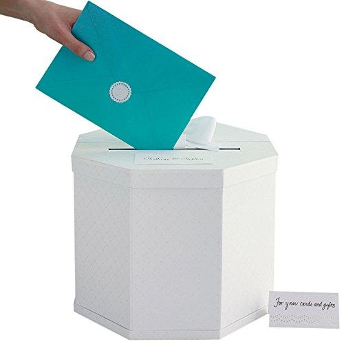 Price comparison product image Martha Stewart Gift Card Box,  White Eyelet