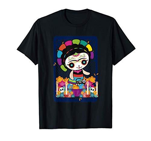 Muñeca mexicana, maria, mazahua, lele, muñeca de trapo Camiseta