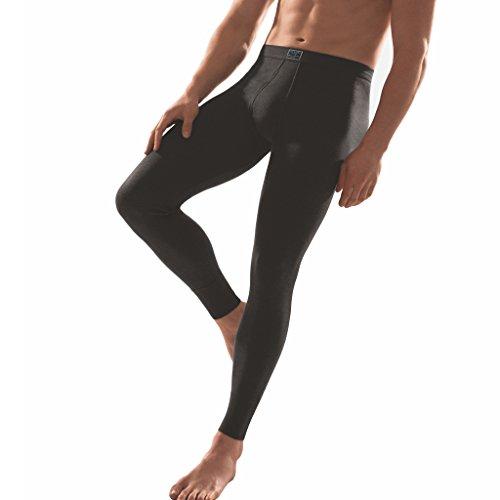 ESGE - Jeans - Herren Unterhose lang mit Eingriff (5, Schwarz)