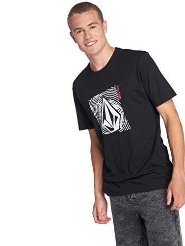 Volcom Stonar Waves DD Short Sleeve T-Shirt Small Black