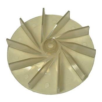 Sanitaire Commercial & Eureka Upright Lexan Plastic Replacment Fan Aftermarket Part # 20-8605-01